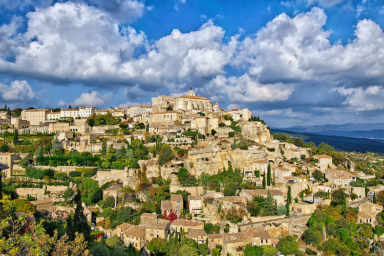 Gordes - the classic view
