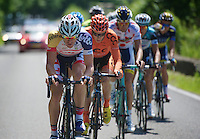 Adam Hansen (AUS) leading the way<br /> <br /> 2013 Ster ZLM Tour <br /> stage 4: Verviers - La Gileppe (186km)