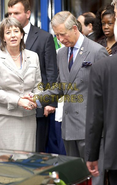 PRINCE CHARLES.Visiting St.Mary's Hospital in Paddington, London,.July 8th 2005..half length royal Prince of Wales.Ref: DH.www.capitalpictures.com.sales@capitalpictures.com.©David Hitchens/Capital Pictures.