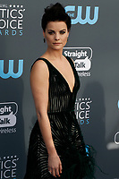 Jaimie Alexander attends the 23rd Annual Critics' Choice Awards at Barker Hangar in Santa Monica, Los Angeles, USA, on 11 January 2018. Photo: Hubert Boesl - NO WIRE SERVICE - Photo: Hubert Boesl/dpa /MediaPunch ***FOR USA ONLY***