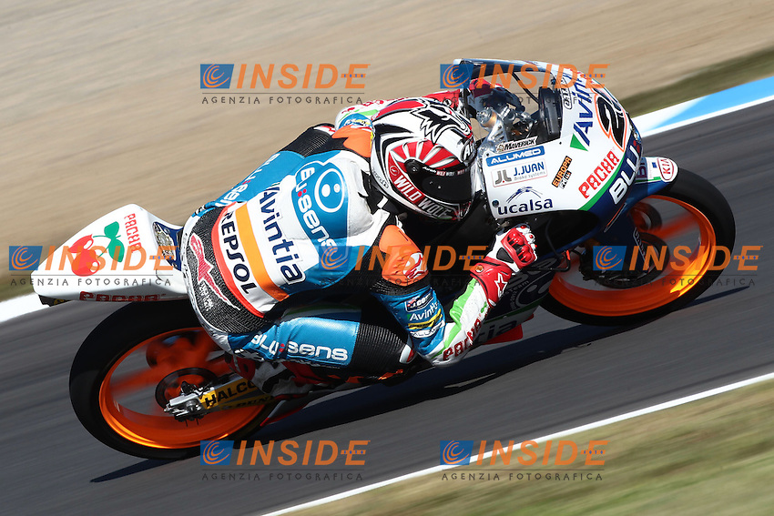 .13-10-2012 Motegi (JAP).Motogp - motogp.in the picture: Maverick Vinales - Avintia racing moto3 .Foto Semedia/Insidefoto.ITALY ONLY
