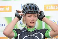INLINE-SKATEN: STEENWIJK: Gagelsweg (start/finish), Schansweg, Meppelerweg, KPN Inline Cup, Klim van Steenwijk, 02-05-2012, Manon Kamminga (#88), ©foto Martin de Jong