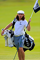 Caddie for Miguel Angel Jimenez (ESP) during the ProAm ahead of the Lyoness Open powered by Organic+ played at Diamond Country Club, Atzenbrugg, Austria. 8-11 June 2017 April.<br /> 07/06/2017.<br /> Picture: Golffile | Phil Inglis<br /> <br /> <br /> All photo usage must carry mandatory copyright credit (&copy; Golffile | Phil Inglis)