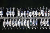 Segelboote am Steg: EUROPA, DEUTSCHLAND, SCHLESWIG- HOLSTEIN, (GERMANY), 21.06.2010: Segelboote am Steg in der Ostsee nahe der Insel Fehmarn.