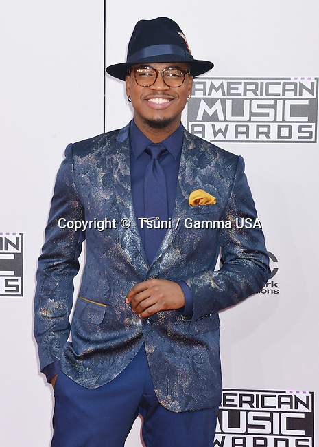 Ne-Yo 154 at the 2014 American Music Awards arrival at the Nokia Theatre on Nov. 23, 2014, in Los Angeles.