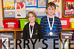 Saoirse and Callum Buckley from Kilgarvan who both won All Ireland Art medals at this years National Community Games Finals. Callum came first in the u10 clay modelling competition while Saoirse came third also in the clay modelling category. Their brother Aaron also took third place in the u14 category of the same competition.