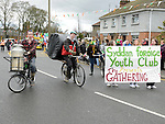 Syddan Foróige Youth Club who took part in Ardee St Patrick's day parade. Photo:Colin Bell/pressphotos.ie