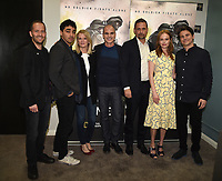 "LOS ANGELES, CA - MARCH 25: (L-R) Executive Producer Mikko Alanne, E.J. Bonilla, writer Martha Raddatz, Michael Kelly, Jeremy Sisto, Kate Bosworth, and Jason Ritter attend the screening and panel discussion for National Geographic's ""The Long Road Home"" at the Harmony Gold Theater on March 25, 2018 in Los Angeles, California. (Photo by Frank Micelotta/NatGeo/PictureGroup)"