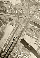 historical aerial of Newark Airport, Newark, NJ, 1966
