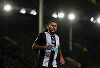 Newcastle United's Jamaal Lascelles<br /> <br /> Photographer Alex Dodd/CameraSport<br /> <br /> The Premier League - Everton v Newcastle United  - Tuesday 21st January 2020 - Goodison Park - Liverpool<br /> <br /> World Copyright © 2020 CameraSport. All rights reserved. 43 Linden Ave. Countesthorpe. Leicester. England. LE8 5PG - Tel: +44 (0) 116 277 4147 - admin@camerasport.com - www.camerasport.com