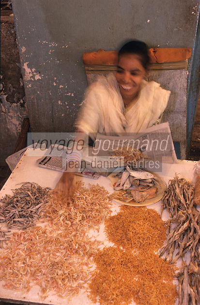 Asie/Inde/Maharashtra/Bombay: Sassooon Docks - Le marché aux poissons