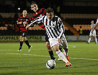 Graham Carey in the St Mirren v Ayr United Scottish Communities League Cup match played at St Mirren Park, Paisley on 29.8.12.