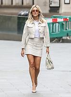 Ashley Roberts Seen Departing The Global Radio Studios In London