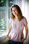 Author Tasha Blaine poses for a portrait in her Sacramento, Calif. home May 25, 2009.