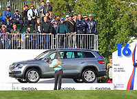 Haydn Porteous (RSA) on the 16th tee during Round 4 of the D+D Real Czech Masters at the Albatross Golf Resort, Prague, Czech Rep. 03/09/2017<br /> Picture: Golffile   Thos Caffrey<br /> <br /> <br /> All photo usage must carry mandatory copyright credit     (&copy; Golffile   Thos Caffrey)