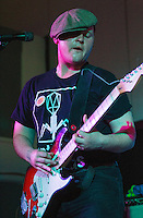08 APR 2016 - STOWMARKET, GBR - Ben Brown on lead guitar and vocals for Superglu during a recording for BBC Introducing at the John Peel Centre for Creative Arts in Stowmarket, Suffolk, Great Britain (PHOTO COPYRIGHT © 2016 NIGEL FARROW, ALL RIGHTS RESERVED)
