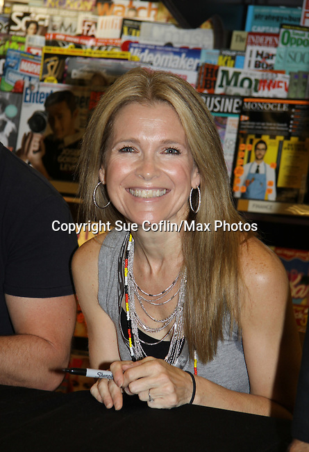 "Days Of Our Lives - Melissa Reeves meets the fans as she signs ""Days Of Our Lives Better Living"" on September 27, 2013 at Books-A-Million in Nashville, Tennessee. (Photo by Sue Coflin/Max Photos)"