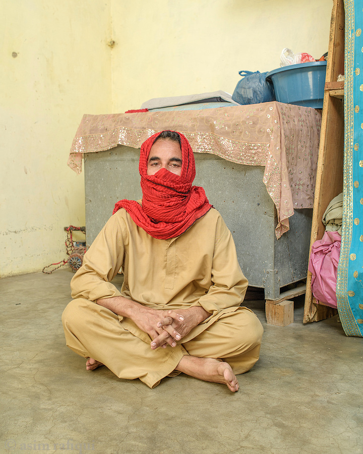 Nazar Zameen, a tannery worker from Karachi. Nazar requested that his identity be protected because he fears retaliation from the factory owners.