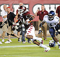 Temple Owls Vaughn Carraway (14) in action during a game against the Villanova Wildcats on August 31, 2012 at Lincoln Financial Field in Philadelphia, PA. Temple beat Villanova 41-10.
