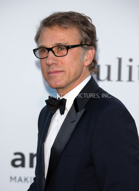 WWW.ACEPIXS.COM....US Sales Only....May 23 2013, New York City....Christoph Waltz at amfAR's Cinema Against AIDS Gala at the Hotel du Cap Eden Roc during the Cannes Film Festival on May 23 2013 in France....By Line: Famous/ACE Pictures......ACE Pictures, Inc...tel: 646 769 0430..Email: info@acepixs.com..www.acepixs.com