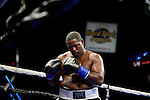 HOLLYWOOD, FL - SEPTEMBER 05: Grover Young  during the World Heavyweight Champions Fight Night at Hard Rock Live! in the Seminole Hard Rock Hotel & Casino on September 5, 2015 in Hollywood, Florida. Briggs won the bout by second round KO. ( Photo by Johnny Louis / jlnphotography.com )