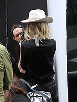 NEW YORK, NY - June 06: Cate Blanchett seen during a photo shoot in the Times Square area in New York City on June 06, 2018. <br /> CAP/MPI/RW<br /> &copy;RW/MPI/Capital Pictures