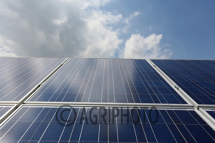 Solar panel on a farm building.Picture Tim Scrivener date taken 15th June 2012.Mobile 07850 303986 e-mail tim@agriphoto.com.?.covering agriculture in the Uk?.