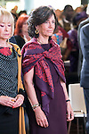 Ana Botin during the minute's silence in remembrance for the victims of the terrorist attack in Paris. in Madrid, November 16, 2015.<br /> (ALTERPHOTOS/BorjaB.Hojas)