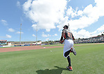 Ichiro Suzuki (Mariners),<br /> MARCH 3, 2015 - MLB : Ichiro Suzuki of the Miami Marlins during a spring training practice game against the University of Miami Hurricanes at Roger Dean Stadium in Juliter, Florida, United States.<br /> (Photo by AFLO)