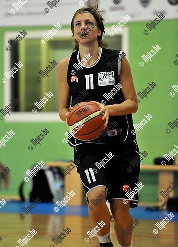 2010-09-08 / Basketbal / Seizoen 2010-2011 / Dames Sint-Katelijne-Waver / Sara Leemans..Foto: Mpics
