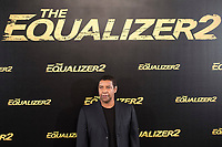 American actor Denzel Washington attends to presentation of the film 'The Equalizer 2' at Villa Magna Hotel in Madrid, Spain. August 07, 2018. (ALTERPHOTOS/Borja B.Hojas)
