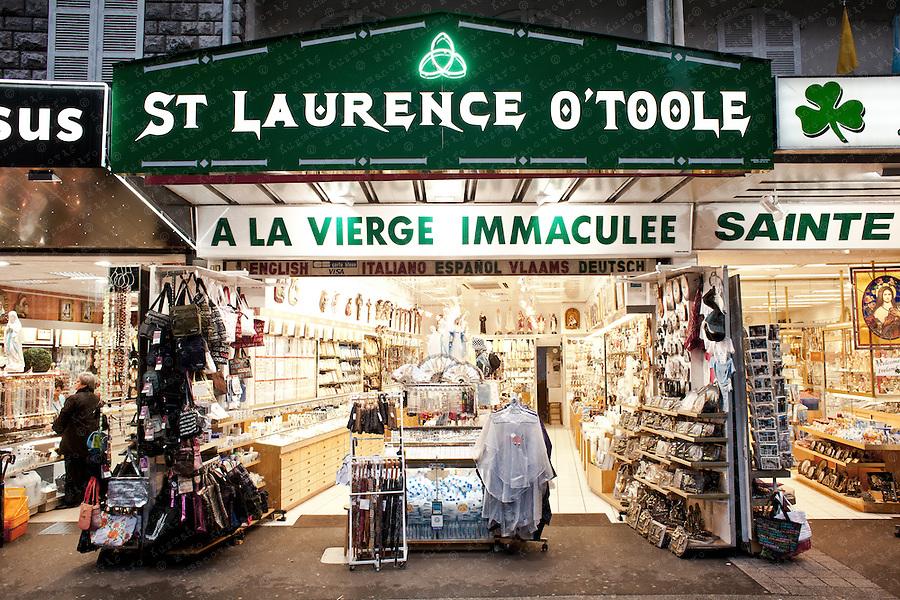 souvenir shops lourdes