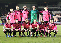 Scotland v Estionia Under 21 International 280317