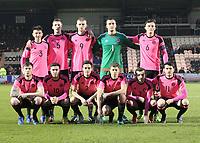 Scotland v Estionia Under 21 International 280317