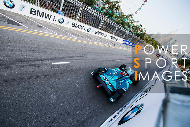 Oliver Turvey of Great Britain from NIO Formula E Team competes during the FIA Formula E Hong Kong E-Prix Round 2 at the Central Harbourfront Circuit on 03 December 2017 in Hong Kong, Hong Kong. Photo by Marcio Rodrigo Machado / Power Sport Images