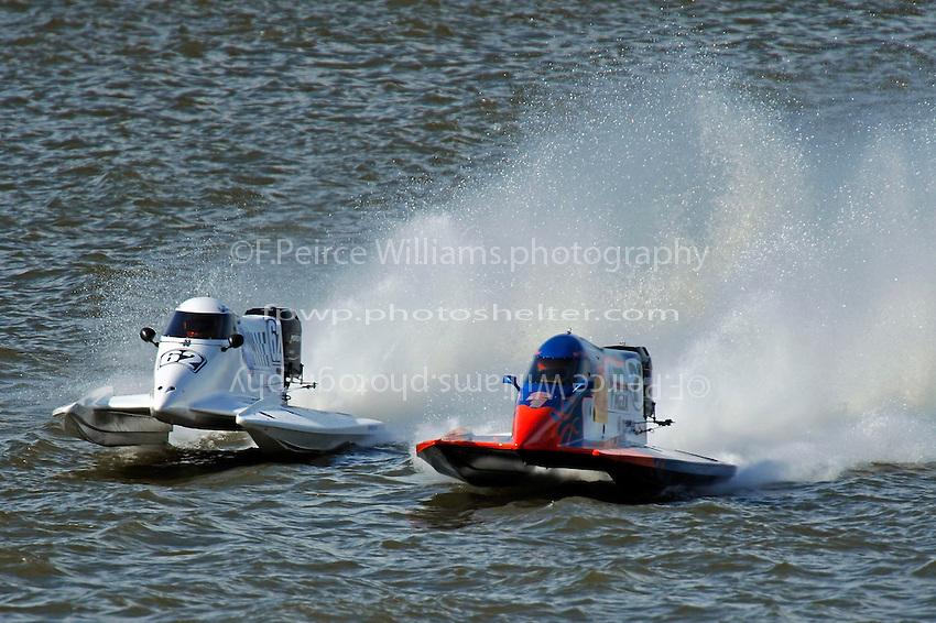 Chris Fairchild (#62) and Jose Mendana, Jr. (#21).. (Formula 1 class)