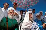 Samaria, the Samaritan Passover Sacrifice on Mount Gerizim, Samaritan Priests&amp;#xA;<br />