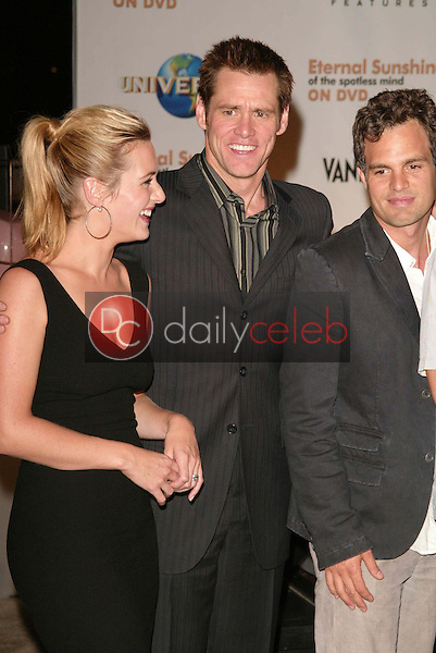 Kate Winslet, Jim Carrey and Mark Ruffalo