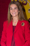10.10.2012. Princess Elena of Spain attends ´Cruz Roja´ (Red Cross) Fundraising Day in the Presidency of the Community, Madrid, Spain. In the image Princess Elena  (Alterphotos/Marta Gonzalez)