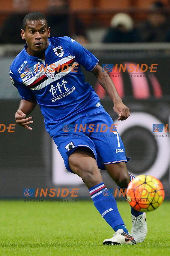 Fernando Sampdoria<br /> Milano 28-11-2015 Stadio Giuseppe Meazza - Football Calcio Serie A Milan - Sampdoria. Foto Giuseppe Celeste / Insidefoto