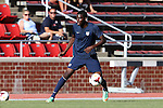 24 May 2014: USA Under-20's Kristoffer Reaves. The Under-20 United States Men's National Team played a scrimmage against the Wilmington Hammerheads at Dail Soccer Field in Raleigh, North Carolina. Wilmington won the game 4-2.