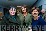L-R Caroline Toal, Tralee, Diana McCarthy&Dee Keogh both Listowel,  at the reopening of the Listowel Community centre&fitness Gym last Friday night. Diana won a years membership on the door prize the same night.