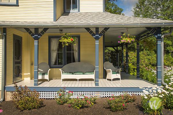 Flora Inn Porch.