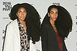 TK Wonder and Cipriana Quann attend the 2016 Whitney Art Party, at The Whitney Museum of American Art on 99 Gansevoort Street in New York City, on November 15, 2016.