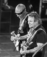 Chickenfoot at The Orpheum in Boston May 16th 2012. Sammy Hagar, Chad Smith, Joe Satriani, Michael Anthony and Kenny Aronoff.