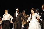 Opening Night with Jeremy Hays, Norm Lewis (All My Children) and Sierra Boggess and cast who are starring in Phantom of the Opera as the first black Phantom starting on May 12 on Broadway at the Majestic Theatre, New York City, New York  (Photo by Sue Coflin/Max Photos)