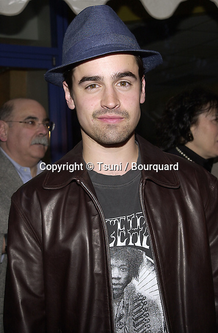 "Jesse Bradford arriving at the premiere of "" Josie and the PussyCats"" at the Galaxie Theatre in Los Angeles  4/9/2001           -            BradfordJesse04.jpg"