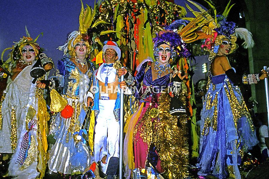 Desfile de carnaval da Portela, Rio de Janeiro. 1986. Foto de Juca Martins.