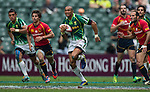 Spain play South Africa in a Bowl Quarter Final on Day 3 of the Cathay Pacific / HSBC Hong Kong Sevens 2013 on 24 March 2013 at Hong Kong Stadium, Hong Kong. Photo by Aitor Alcalde / The Power of Sport Images