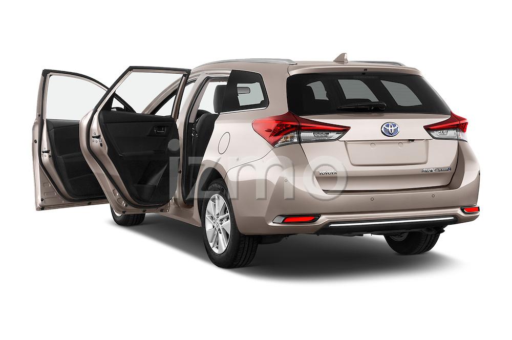 Car images of 2015 Toyota Auris Touring Sports Business Plus 5 Door Wagon Doors